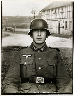 August Sander silver-gelatin prints made by Gunther Sander and embossed with the blind stamp of August Sander