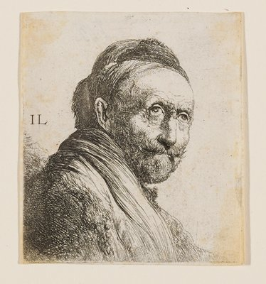 Artist could possibly be Jan Lievens, 1607-74.