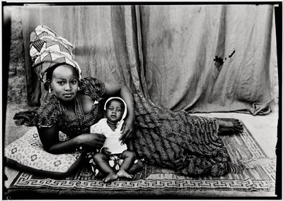 Untitled (a young mother with her baby)