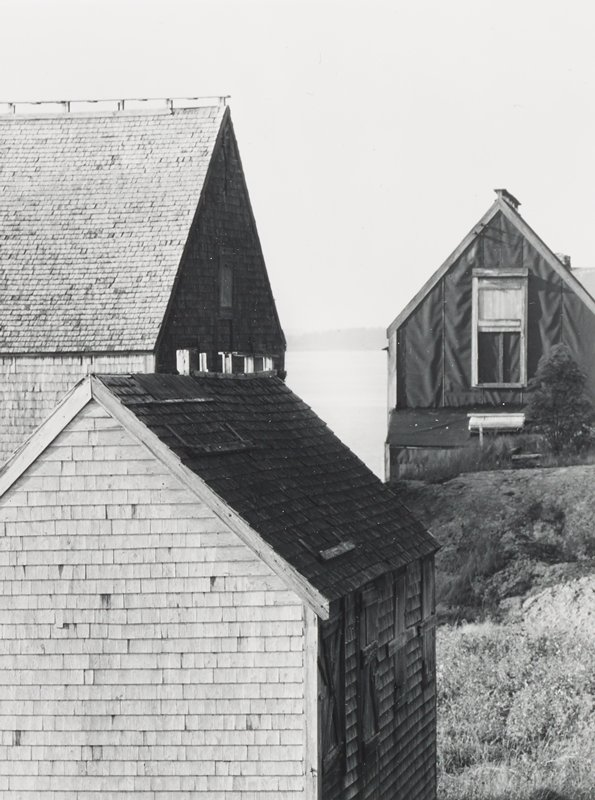 three house roofs at different angles
