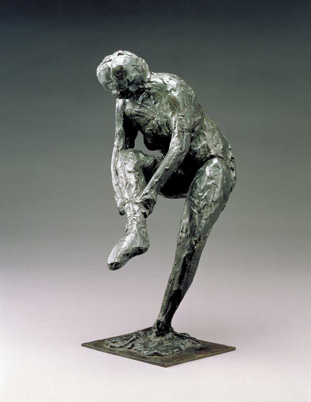 Figure; This work was cast posthumously from a terracotta sketch, ca. 1900; casting history and edition size unknown