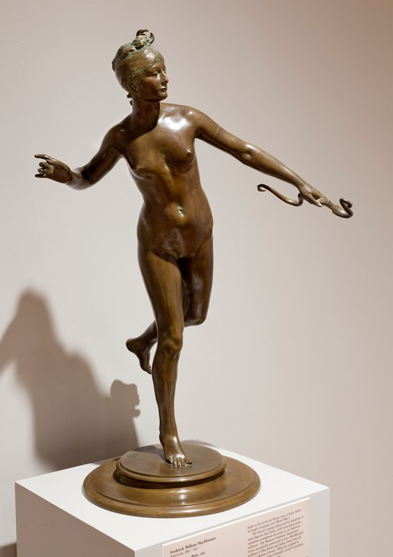 Female Figure; Figure of Diana with bow in left hand (goddess in classical Greek Mythology)