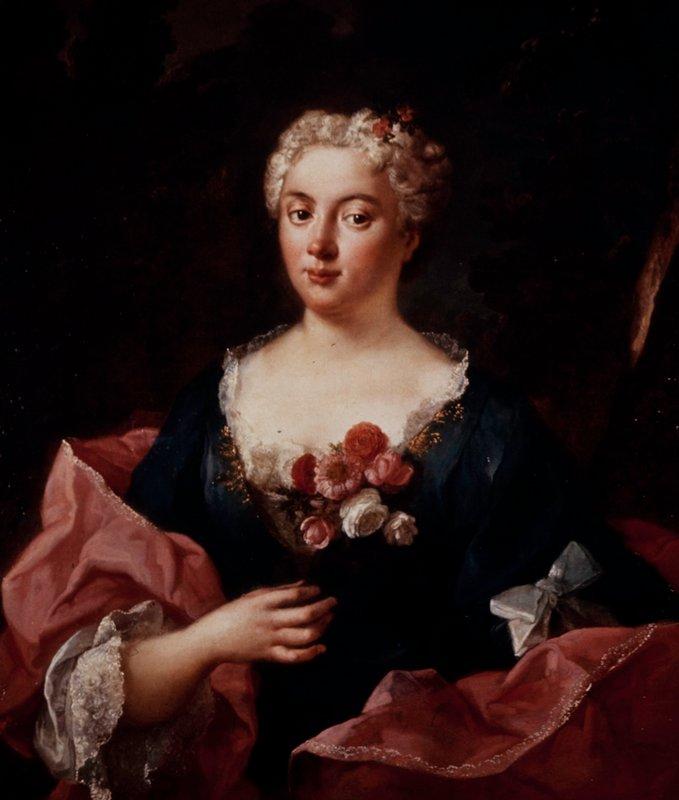 Portrait of a woman Faustina Bordoni