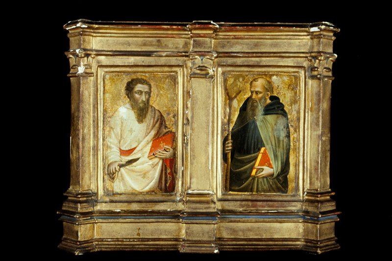 diptych, part of an altarpiece