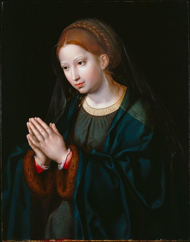 Virgin Mary in Prayer Mater Dolorosa