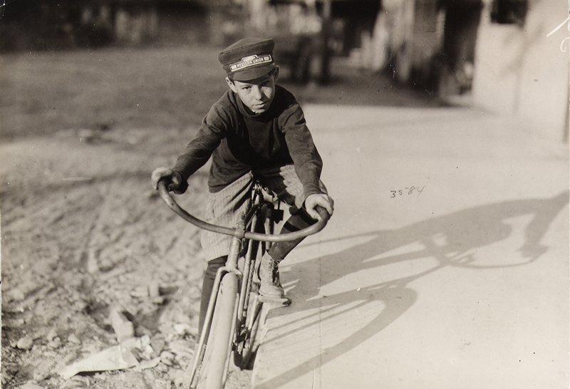 messenger boy, Waco, Texas