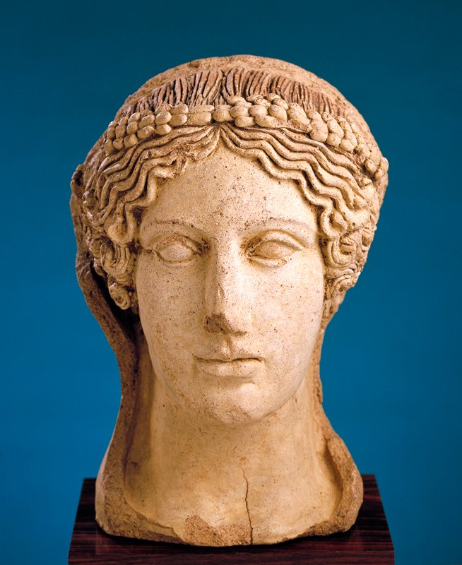 votive portrait head