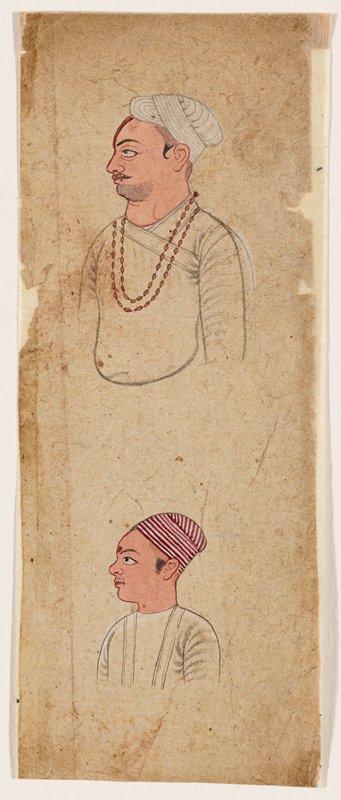 illustration from a Ramayana series; Chamba