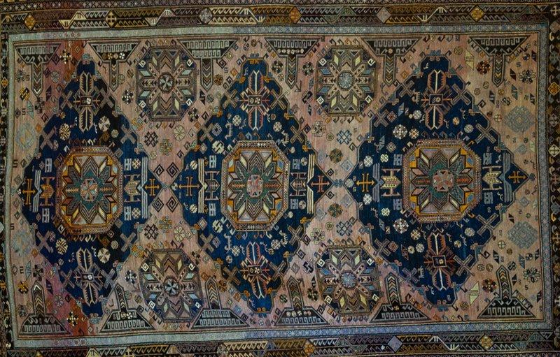 Caucasian soumak rug