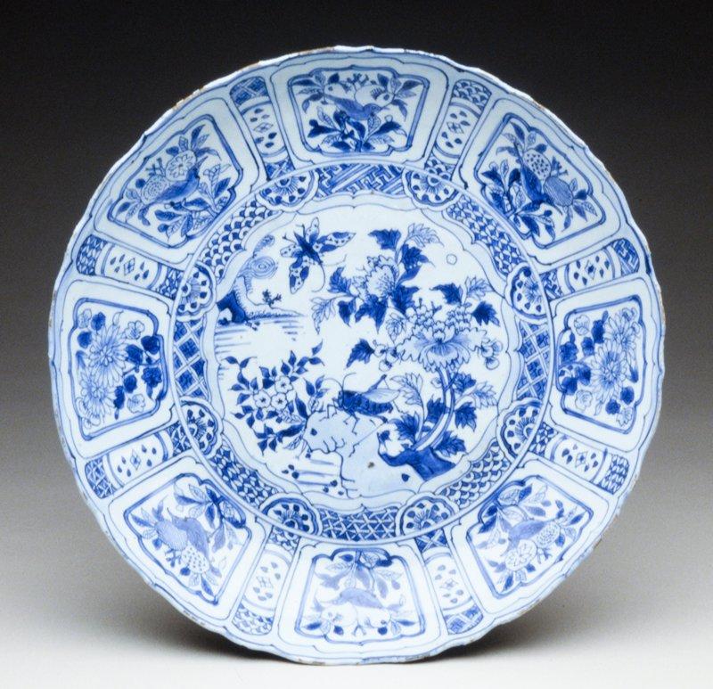 platter, Carrack porcelain