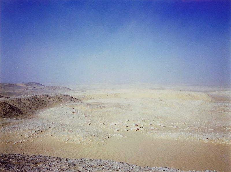 desert and blue sky, Egypt