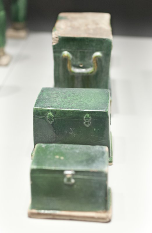 model Hinged Chest, from a set of model furniture