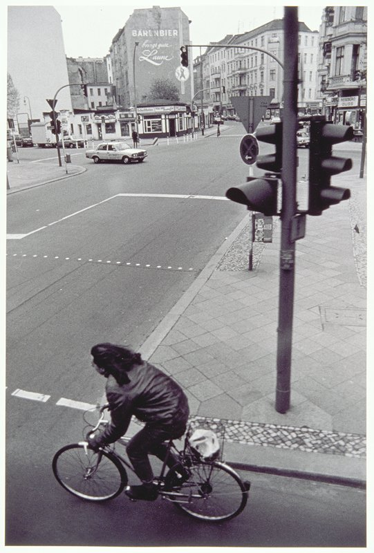 street scene, biker