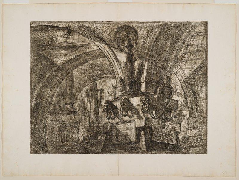 Plate 15 from Carceri d'Invenzione