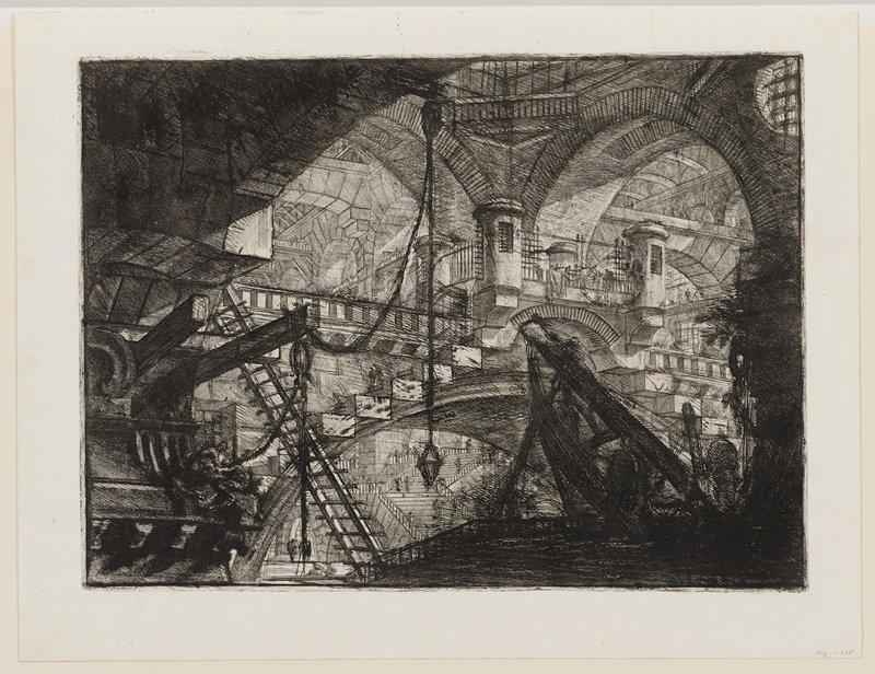Plate 11 from Carceri d'Invenzione