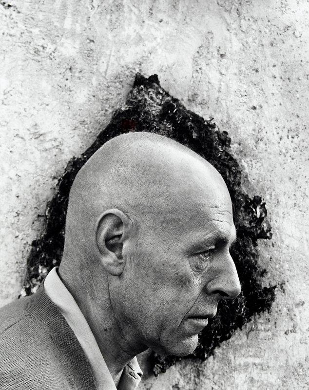 portrait of Jean Dubuffet