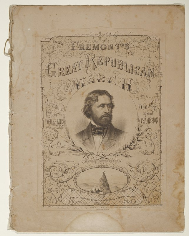 (original signature by Fremont on cover)