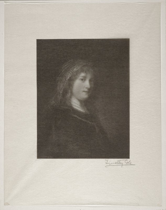 Wife of Rembrandt