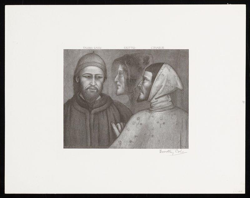 (Gaddi, Giotto, Cimabue)