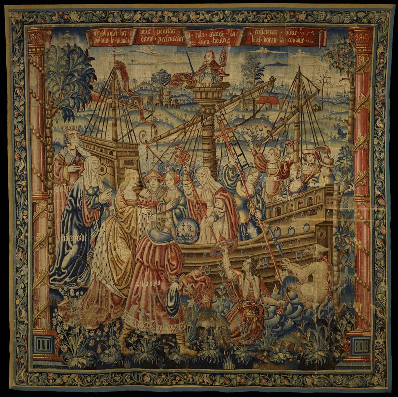 Former Classification: Textiles - Tapestry