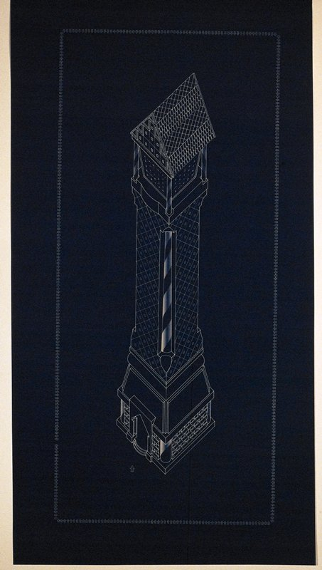 one of a collection of 15 engravings relating to textile production