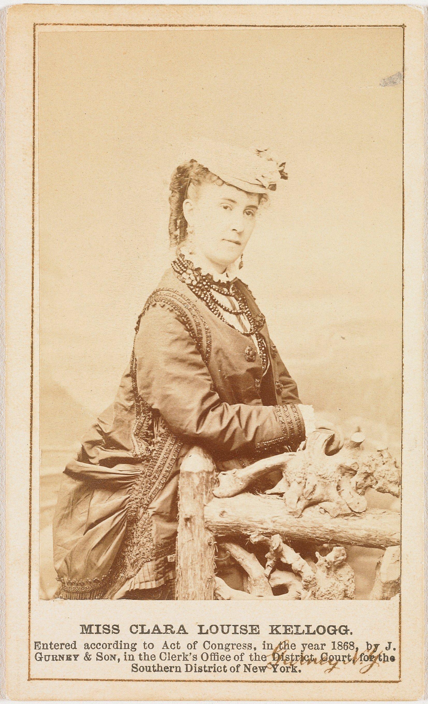 Clara Louise Kellogg 1842 1916 Jeremiah Gurney